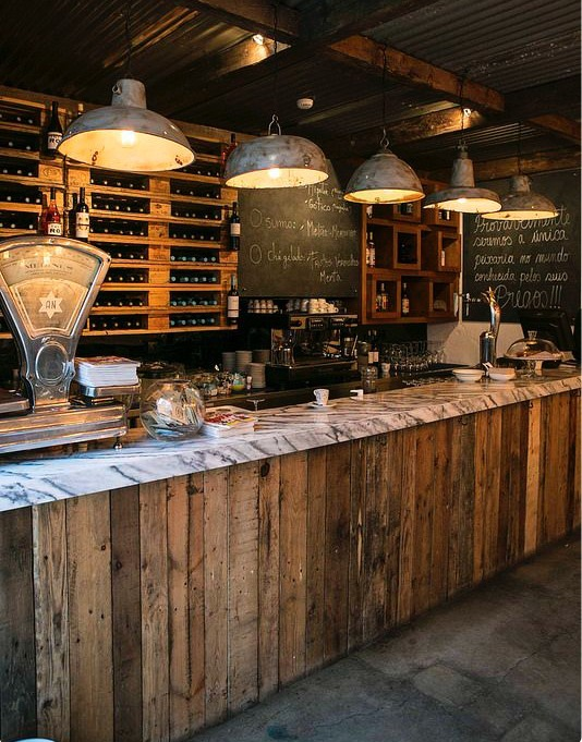 Barras vintage cafetrias restaurantes y bares 8 - Barras de bares ...