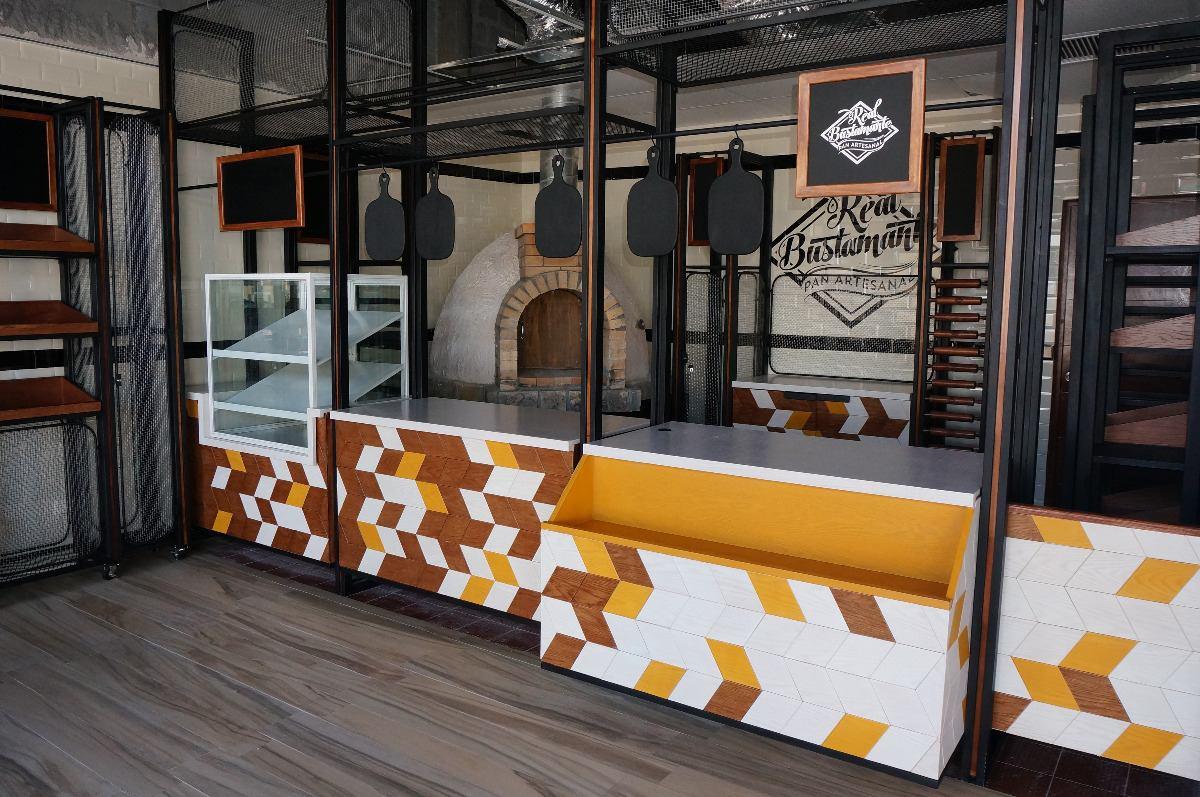 Barras vintage industriales cafeter as restaurantes y for Tiendas de muebles para restaurantes