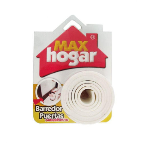 barredor flexible para puerta - max hogar - 07040002 - blanc