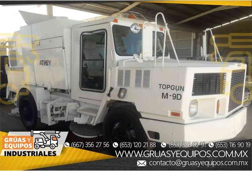 barredora athey truck 3 cepillos