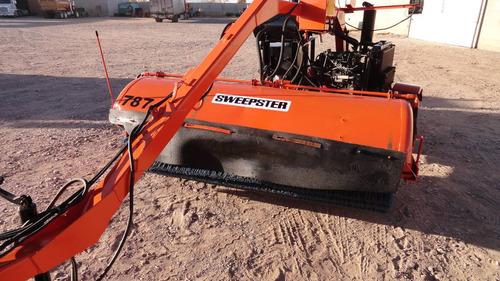 barredora de jalon tiron para asfalto sweepster  mb53 broce