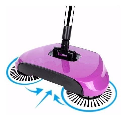 barredora escoba c/ empuje manual piso sin filtro 3 en1