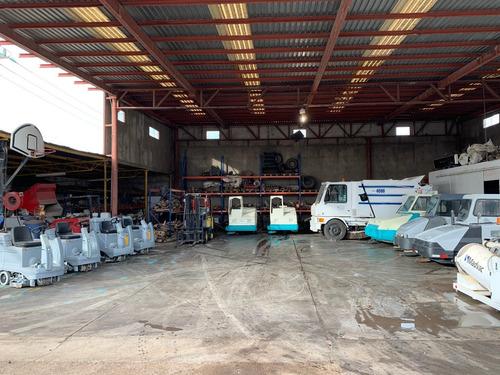 barredora industrial tennant 800 diesel vta o renta servicio