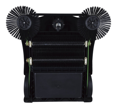barredora manual profesional 14l kushiro 2 escobillas