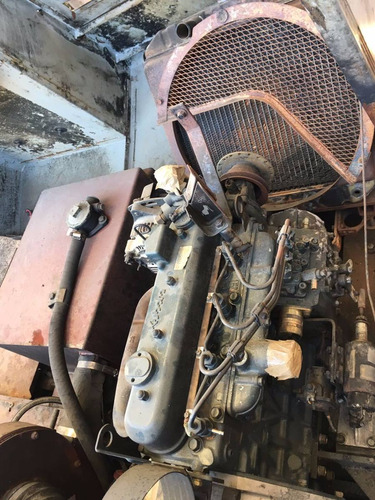 barredora power boss diesel sw/72u año 1999 motor kubota