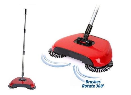 barredora spin escoba aspiradora sweep drag all-in-one