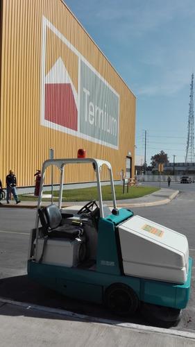 barredoras restregadoras tennant limpieza industrial renta