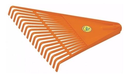 barrehojas plastico 26 dientes con cabo mango madera 120 cm