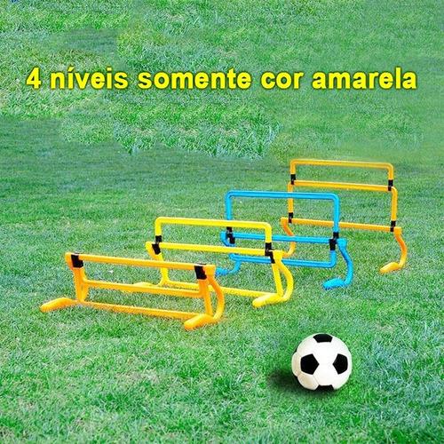 barreira (05) 4 níveis ajustáveis obstaculos funcional pliom