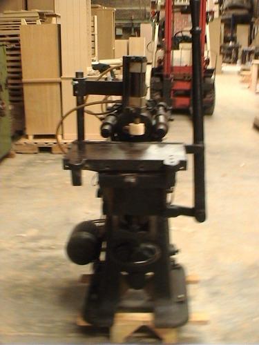 barreno para largueros - maquinas de carpinteria