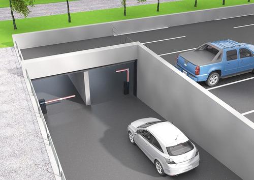 barrera italiana control acesso para estacionamiento y urb.