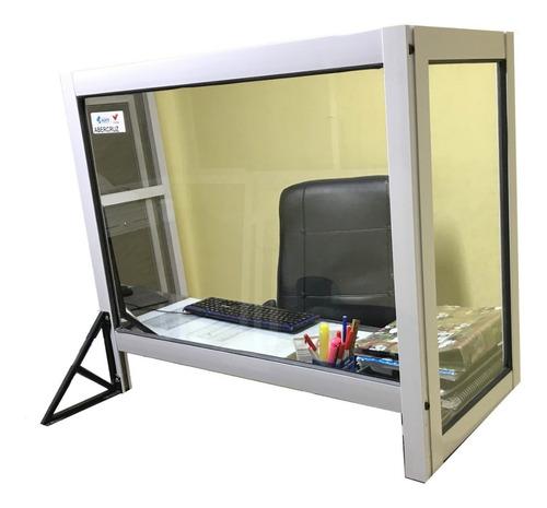 barrera sanitaria protector atención al publico 100x60