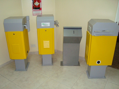 barrera vehicular - barrera automatica - barreras - detector
