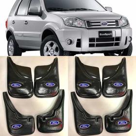 Barreros Para Ford Ecosport Rígidos De Plastico X 4 Hasta 12