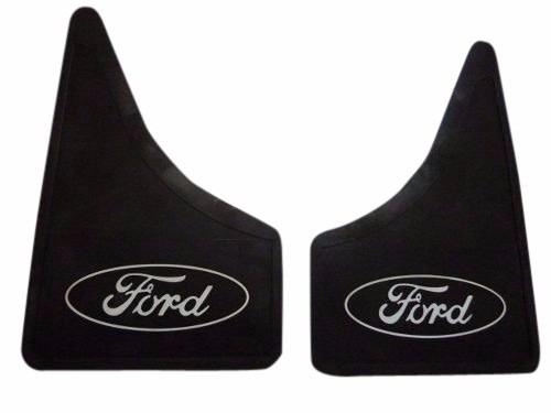 barreros pick up ford con logo delanteros juego x 2 unidades