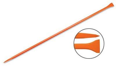barreta con punta y formón corto 72mm,1pulg. x 1.50mt truper
