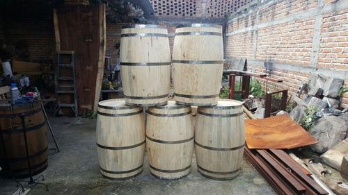 barrica barril decorativo 200 litros