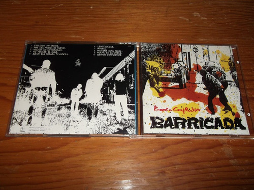 barricada - barrio conflictivo cd español ed 1993 mdisk