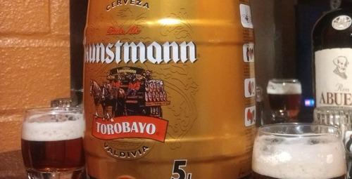 barril 5 litros kunstmann torobayo valdivia