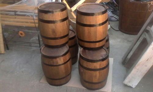 barril barrica decorativo de 20 lts.