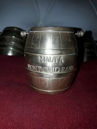 barril bronce malta montevideana colección precio c/u