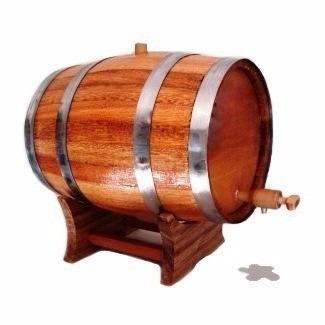barril carvalho europeu 5 l. / dorna / corote / cachaça