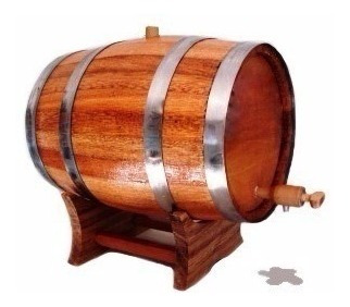 barril carvalho europeu 5 l.   dorna   corote   cachaça