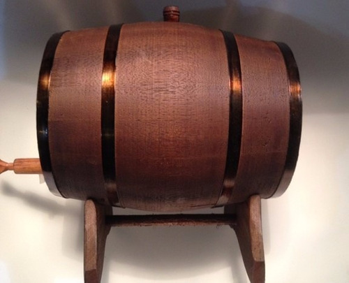 barril carvalho europeu 5 l / dorna / corote / cachaça envel