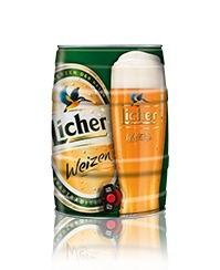 barril cerveza licher weizen 5 litros - cerveza importada.