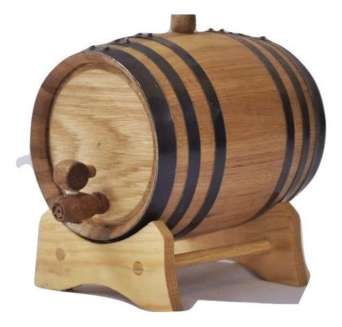 barril de roble para 1 litro, personalizado y envio gratis.