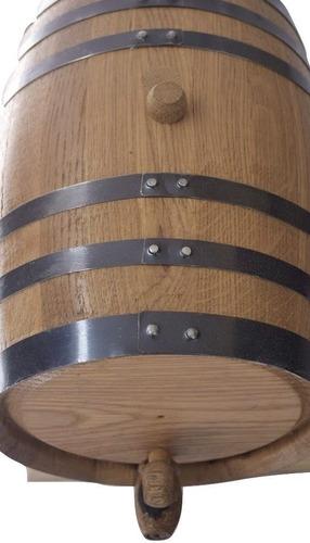 barril de roble para 10 litros, personalizado y envio gratis