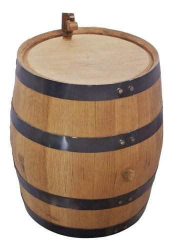 barril de roble para 50 litros, personalizado y envio gratis