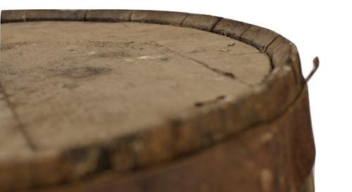 barril para 180 lts, 100% roble blanco. rustico