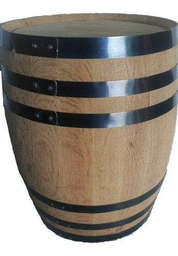 barril para 200 lts, 100% roble blanco, personalizado.