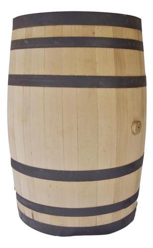 barril para 200 lts, 100% roble blanco. pulido