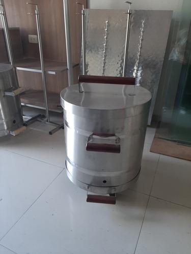 barril para asados  de la mejor calidad en acero inox 304