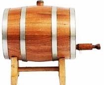 barril p\cervejeiros  cerveja artezanal  chop, carvalho 3 l