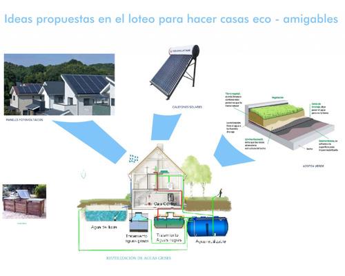 barrio abierto ecopueblo alvear, el emprendimiento ecológico