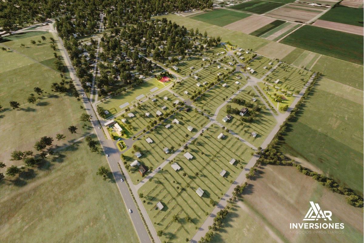 barrio abierto ecotierra en la localidad de pueblo esther. terreno de 300 m2.