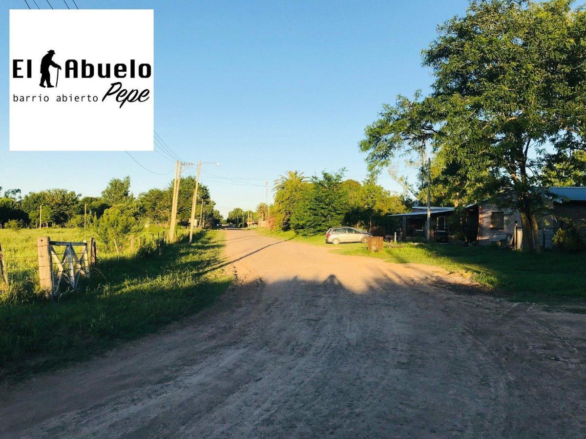barrio abierto el abuelo pepe. localidad de luis palacios. terreno de 400 m2.