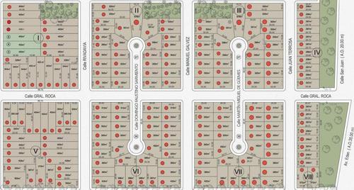 barrio abierto en ricardone - todos los servicios -  financiacion hasta 60 cuotas