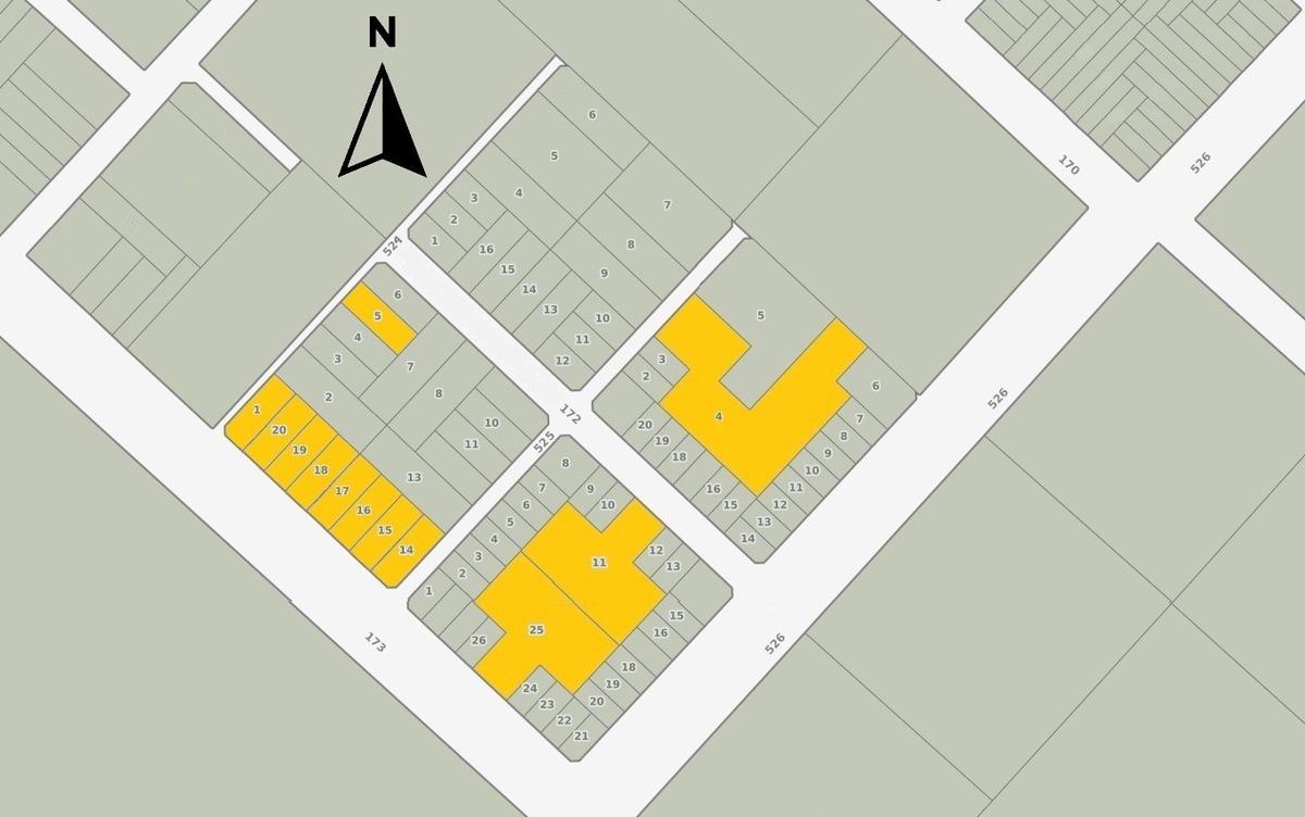 barrio abierto lomas altas de romero - vende lote 15 x 40 m (id 7853)