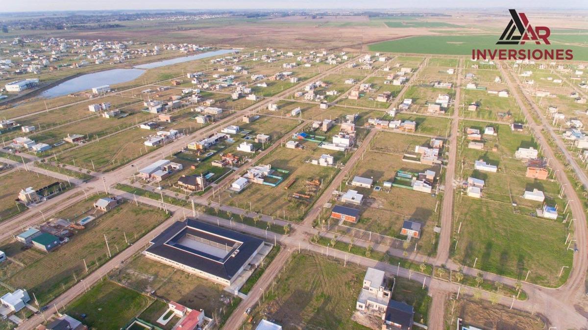 barrio abierto tierra de sueños 3 roldan. lote de 360 m2. entrega inmediata.