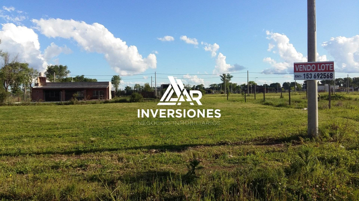 barrio abierto tierra de sueños 3  roldan. lote de 360 m2. excelente precio.