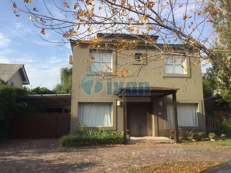 barrio cerrado la escondida (tigre) - casa venta usd 470.000