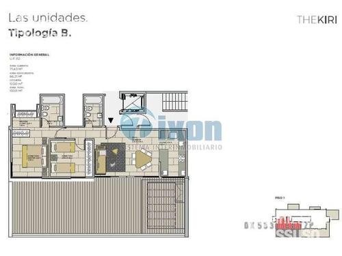 barrio cerrado nordelta - puerto escondido - departamento venta usd 235.000