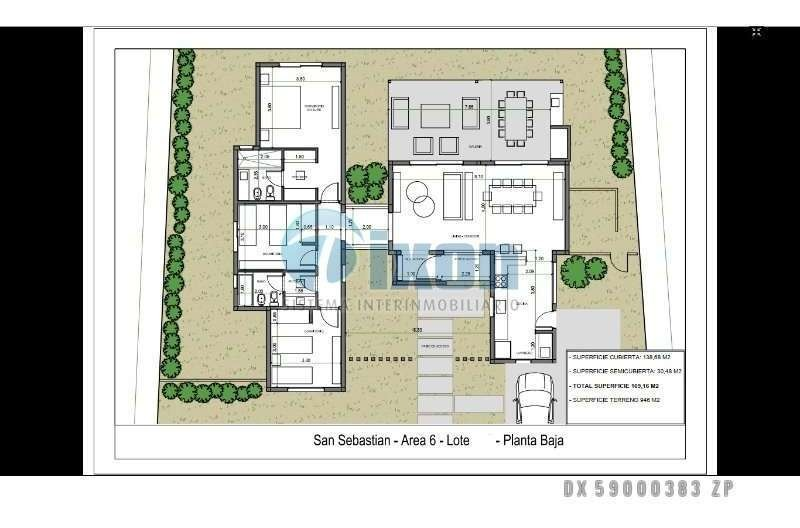 barrio cerrado san sebastián (pilar) - casa venta usd 235.000