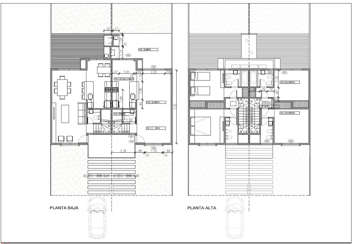 barrio mirasoles: 2 duplex a estrenar