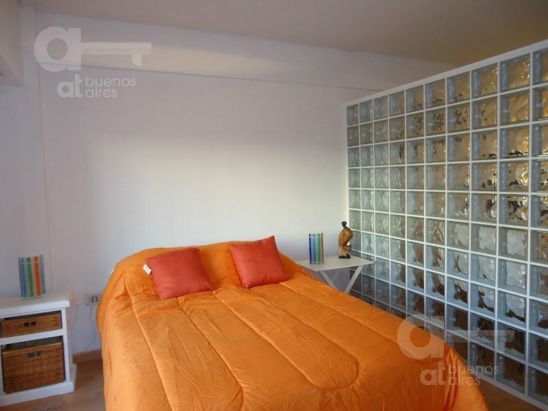 barrio norte, departameno 1 ambiente con balcón, alquiler temporario sin garantía!