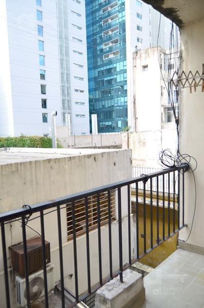 barrio norte, departamento 1 ambiente con balcón, alquiler temporario